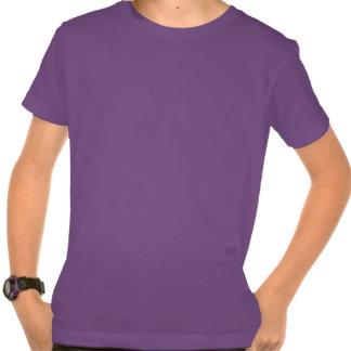 Kid's Daisy T-shirt Organic Purple Flower Shirt