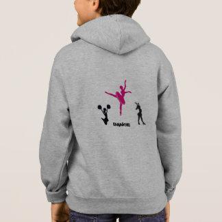 Kids Dance Fleece Zip Hoodie