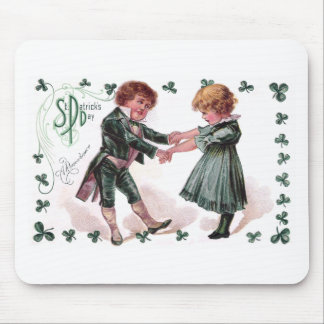 Kids Dance on St Patrick's Day Mousepad