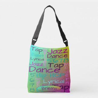 Kids Dance Words Personalized Crossbody Bag