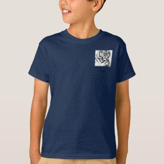 Kids Dark Vertical T-Shirt Template