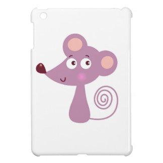 Kids design / Mouse on white iPad Mini Cover