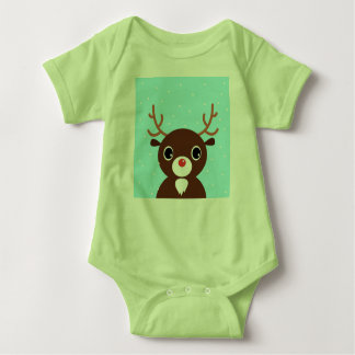 Kids designers t-shirt with Reindeer