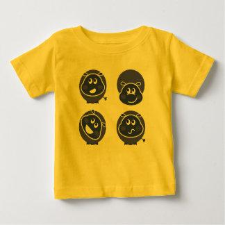 Kids designers tshirt : Happy rhino