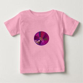 Kids designers Tshirt with Purple Gemstone