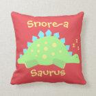 Kids Dinosaur Sleepy Baby Stegosaurus Cushion