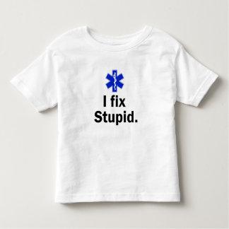 Kids EMT I fix stupid Tee Shirts