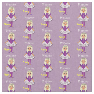 Kids Fairy Princess Personalized Whimsy Print Fabric