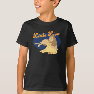 Kids Father's Day Little Lion Dad and Son Boy's TS T-Shirt