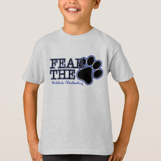 KIDS FEAR the PAW SS Gray Tee
