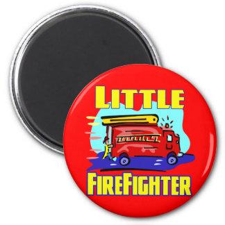 Kids Fireman T-shirts and Kids Fireman Gifts Fridge Magnets
