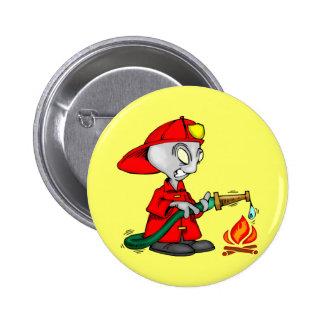 Kids Firemen Tee Shirts and Kids Gifts Pin
