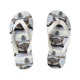 Kid's Flip Flops Ground Squirrel