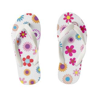 Kids flower printed designer Flip Flops Thongs
