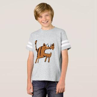 Kids' Football Shirt Boy Cat