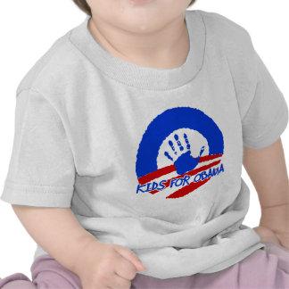 kids for obama tshirt