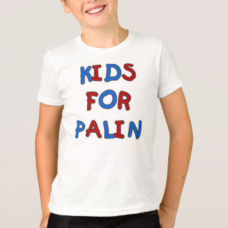 Kids for Palin Kids Ringer T-shirt