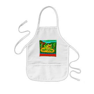 Kids Frog T Shirts and Kids Frog Gift Aprons