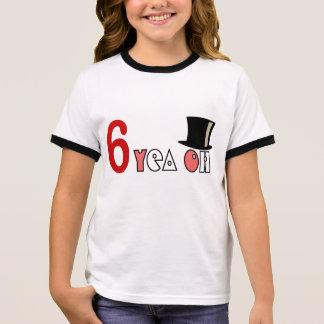 Kid's funny 6 year Tshirt HQH