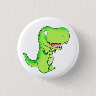 kids funny cute cartoon T-rex dinosaur 3 Cm Round Badge