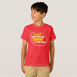 kids gamer t-shirt - ideal for the young gamer