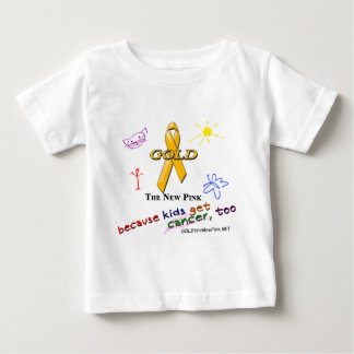 Kids Get Cancer, Too! Baby T-Shirt