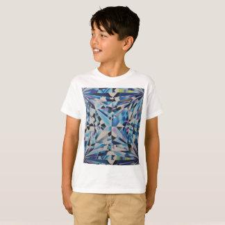 Kids Glass Diamond ' Hanes TAGLESS® T-Shirt