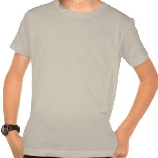 Kids Golden Swim Design Organic T-Shirt