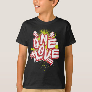 Kids Graffiti: One Love Streetwear T-Shirt