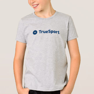 Kid's Gray T-Shirt with Large Logo