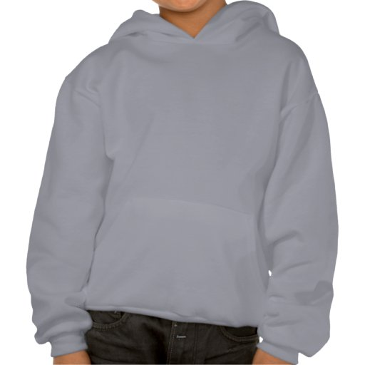 Kids Grey Customisable Plain Blank Hoodie   Zazzle