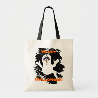 Kids Halloween Ghost Trick or Treat Bag