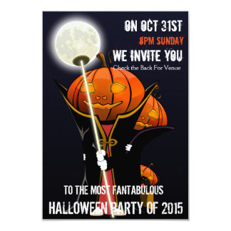 Kids Halloween Party Invites