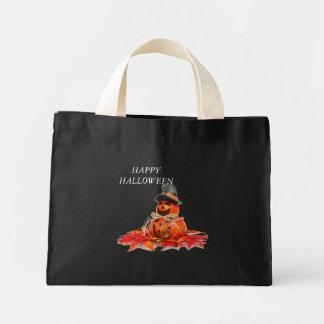 Kids Halloween Pumkins Tote Bags