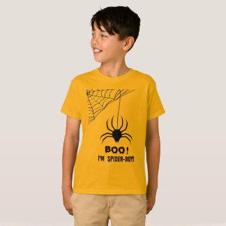 Kid's Halloween Spider-Boy Boo T-Shirt
