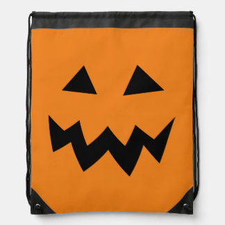 Kids Halloween trick or treat drawstring backpack