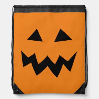 Kids Halloween trick or treat drawstring backpack