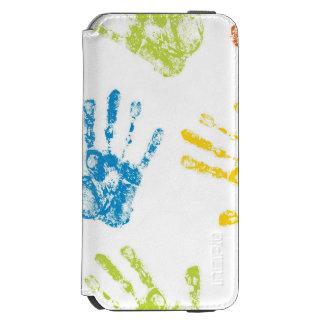 Kids Handprints in Paint Incipio Watson™ iPhone 6 Wallet Case