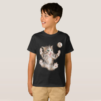 Kids' Hanes Tagless Playful Kitty T-shirt