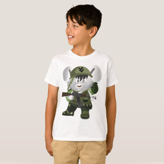 Kids' Hanes TAGLESS® T-Shirt Amy Soldier