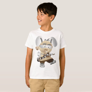 Kids' Hanes TAGLESS® T-Shirt Boat Captain Rat