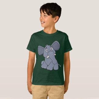 Kids' Hanes TAGLESS T-Shirt elephant Shaking arm
