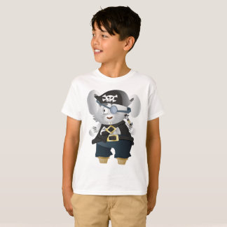 Kids' Hanes TAGLESS® T-Shirt Pirates Rat