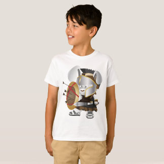 Kids' Hanes TAGLESS® T-Shirt Rat Roman warrior Boy