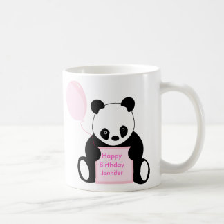 Kids happy birthday personalised name mug