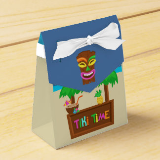 Kids Hawaiian Luau Party Guest Favor Favour Box