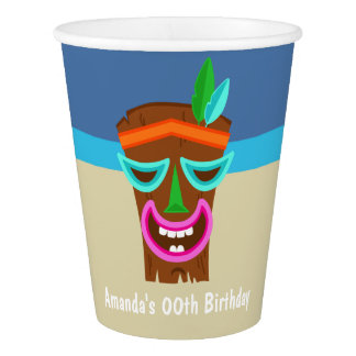 Kids Hawaiian Luau Party Paper Cup