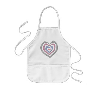 Kids Heart T Shirts and Kids Heart Gifts Kids' Apron