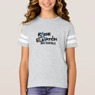 Kids Hike Asheville Football Shirt