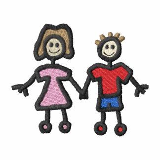 Kids Holding Hands Hoodies